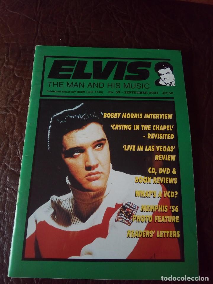 REVISTA ELVIS THE MAN AND HIS MUSIC N°53 2001 (Música - Revistas, Manuales y Cursos)