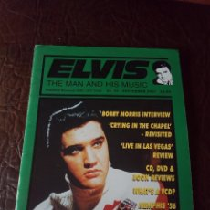 Revistas de música: REVISTA ELVIS THE MAN AND HIS MUSIC N°53 2001. Lote 159778098