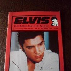 Revistas de música: REVISTA ELVIS THE MAN AND HIS MUSIC N°46 1999. Lote 159778242