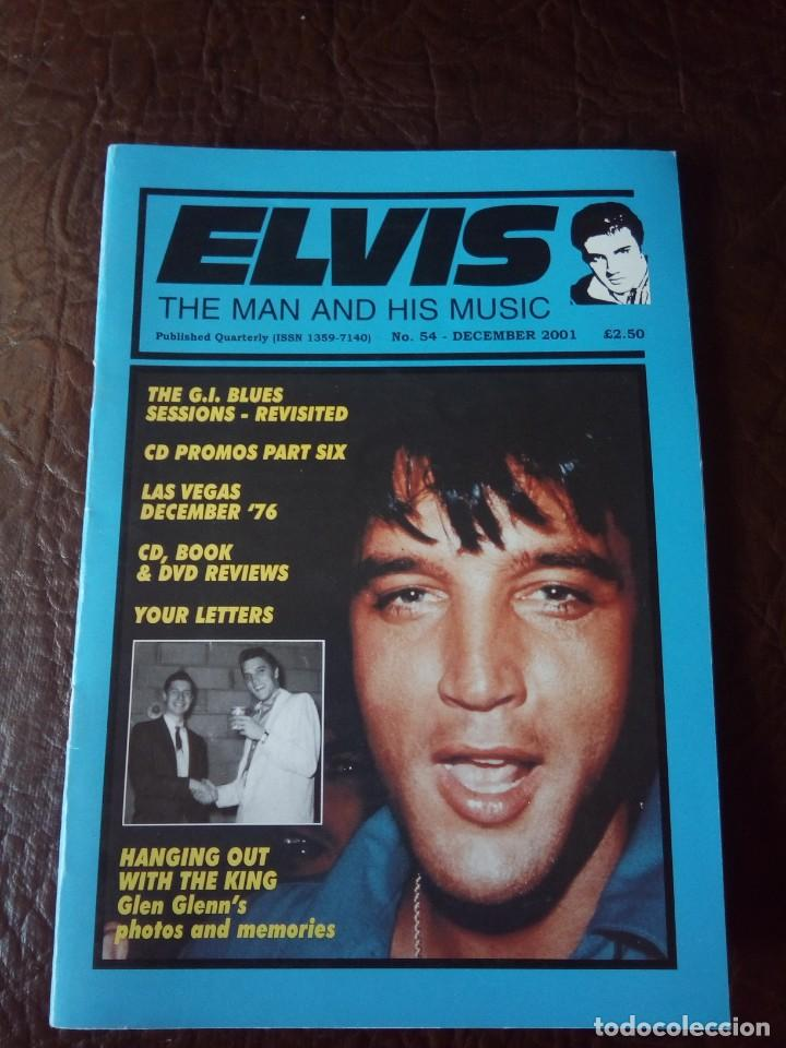 REVISTA ELVIS THE MAN AND HIS MUSIC N°54 2001 (Música - Revistas, Manuales y Cursos)