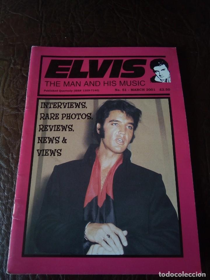 REVISTA ELVIS THE MAN AND HIS MUSIC N°51 2001 (Música - Revistas, Manuales y Cursos)