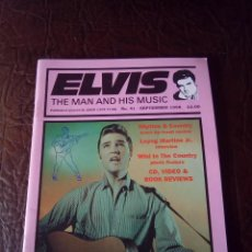 Revistas de música: REVISTA ELVIS THE MAN AND HIS MUSIC N°41 1998. Lote 159779126