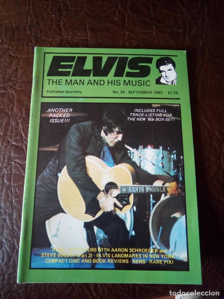 REVISTA ELVIS THE MAN AND HIS MUSIC N°20 1993 (Música - Revistas, Manuales y Cursos)