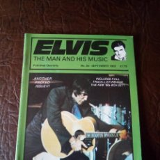 Revistas de música: REVISTA ELVIS THE MAN AND HIS MUSIC N°20 1993. Lote 159779746