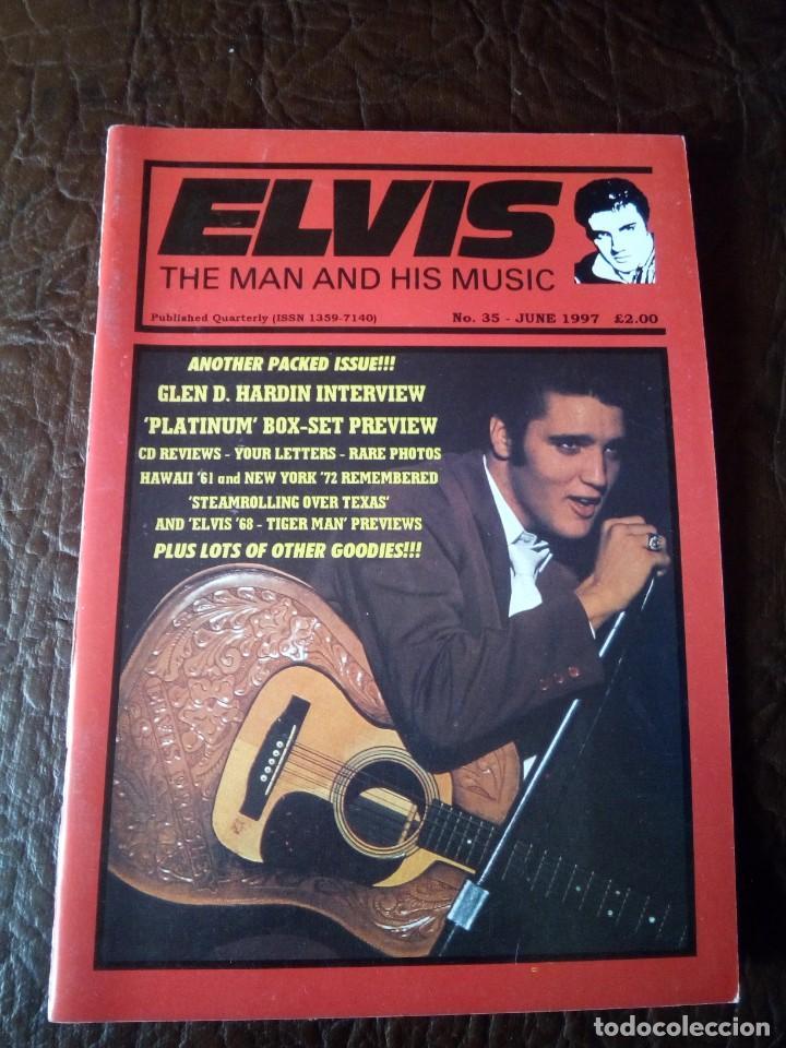 REVISTA ELVIS THE MAN AND HIS MUSIC N°35 1997 (Música - Revistas, Manuales y Cursos)