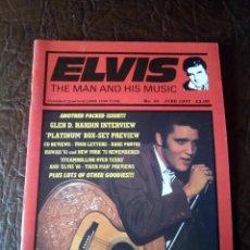 Revistas de música: REVISTA ELVIS THE MAN AND HIS MUSIC N°35 1997. Lote 159779922