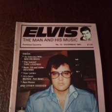 Revistas de música: REVISTA ELVIS THE MAN AND HIS MUSIC N°13 1991. Lote 159780186