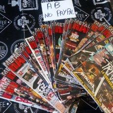 Revistas de música: LOTE 30 REVISTAS METAL HAMMER LOS NÚMEROS INTERCALADOS VAN DE 251 AL 281 ALGUNA DE ELLAS PUEDE TENER. Lote 160596948