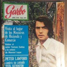 Revistas de música: GARBO 3/12/1969 SERRAT. Lote 160678742