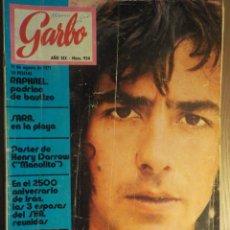 Revistas de música: GARBO 11/8/1971. SERRAT. Lote 160679214