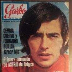 Revistas de música: GARBO 11/6/1969 SERRAT. Lote 160679886