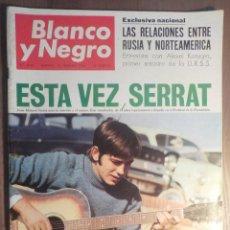 Revistas de música: BLANCO Y NEGRO. 108/2/1968 SERRAT. Lote 160680386