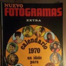 Revistas de música: NUEVO FOTOGRAMAS 2/1/1970 SERRAT. Lote 160681234