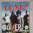 Revistas de música: REVISTA WM ? WHAT´S MUSIC - Nº27 - DOVER, ORISHAS, RED HOT CHILI PEPPERS, SANTANA, CAFE QUIJANO. Lote 160969966