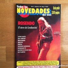 Revistas de música - TODAS LAS NOVEDADES DEL MES #70. MAYO 1999: ROSENDO, MERCROMINA, MINISTRY, ORBITAL, LOS PLANETAS... - 161062784