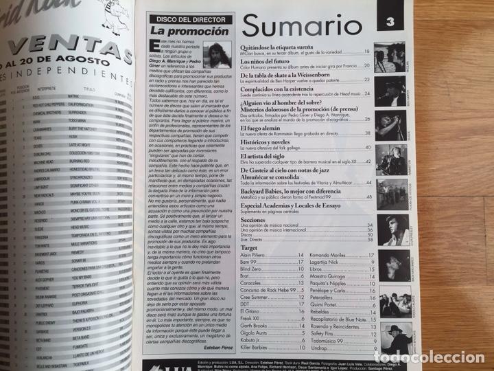 Revistas de música: TODAS LAS NOVEDADES DEL MES #73. SEP 1999; M-CLAN, BEN HARPER, SUEDE, RAMMSTEIN, ELVIS ... - Foto 2 - 161064369