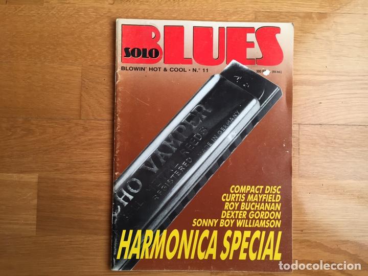SOLO BLUES #11: SONNY BOY WILLIAMSON, CURTIS MAYFIELD, ROY BUCHANAN, DEXTER GORDON,... (Música - Revistas, Manuales y Cursos)