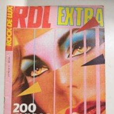 Riviste di musica: ROCK DE LUX NUMERO EXTRA Nº 6 - 200 CHICAS DEL ROCK, RDL, ABBA, ANA CURRA, ALASKA, BLONDIE. Lote 161087986