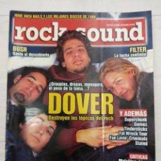 Revistas de música: REVISTA/ROCK SOUND//DOVER.. Lote 161150006