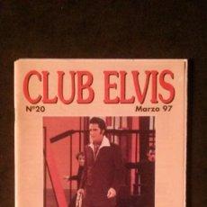 Revistas de música - REVISTA CLUB ELVIS Nº 20-ELVIS PRESLEY - 161405818