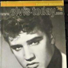 Revistas de música: ELVIS TODAY ISSUE 1 - UK- AÑO 2000. Lote 162945706
