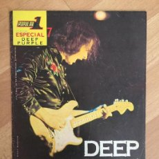 Revistas de música: REVISTA POPULAR 1. COLECCION ESPECIAL 7. DEEP PURPLE - GCH. Lote 163340138