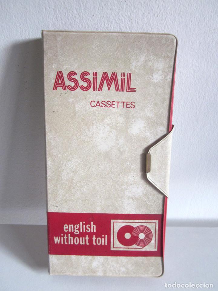 Revistas de música: Assimil estuche y tres Cassettes Casetes English without toil curso inglés completo - Foto 2 - 163340942