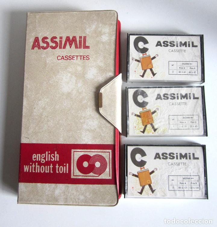 Revistas de música: Assimil estuche y tres Cassettes Casetes English without toil curso inglés completo - Foto 3 - 163340942