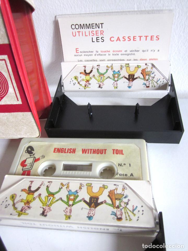 Revistas de música: Assimil estuche y tres Cassettes Casetes English without toil curso inglés completo - Foto 4 - 163340942