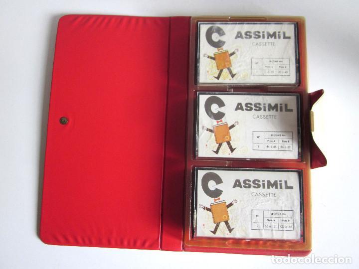 Revistas de música: Assimil estuche y tres Cassettes Casetes English without toil curso inglés completo - Foto 5 - 163340942
