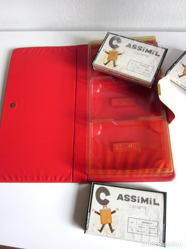 Revistas de música: Assimil estuche y tres Cassettes Casetes English without toil curso inglés completo - Foto 6 - 163340942