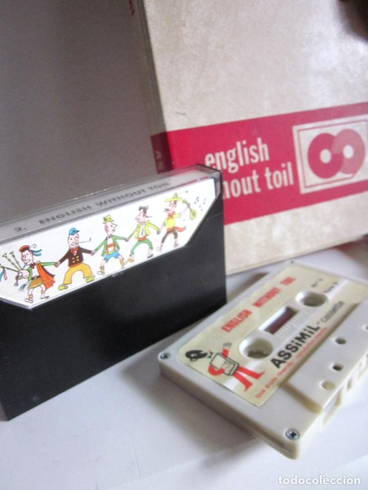Revistas de música: Assimil estuche y tres Cassettes Casetes English without toil curso inglés completo - Foto 8 - 163340942