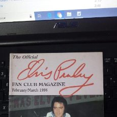 Revistas de música: THE OFFICIAL ELVIS PRESLEY FAN CLUB MAGAZINE. Lote 163826362