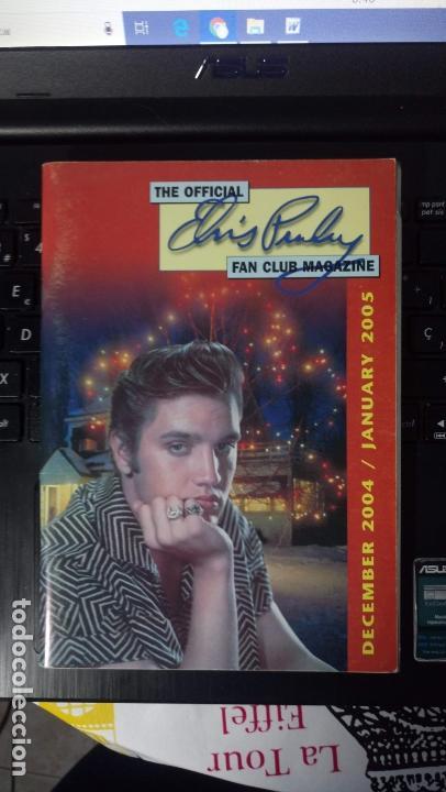 THE OFFICIAL ELVIS PRESLEY FAN CLUB MAGAZINE (Música - Revistas, Manuales y Cursos)