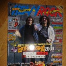 Revistas de música: REVISTA HEAVY/ROCK Nº 284 (EXTREMODURO, MEGADETH, LOS SUAVES...). Lote 215684843
