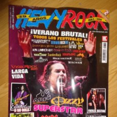 Revistas de música: REVISTA HEAVY/ROCK Nº 334 (OZZY OSBOURNE, EXTREMODURO, AC/DC...). Lote 164098086