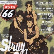 Revistas de música: RUTA 66 N. 370 MAYO 2019 - EN PORTADA: STRAY CATS (NUEVA). Lote 164200914