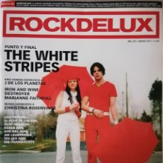 Revistas de música: ROCKDELUX N° 293 (SIN CD) MARZO DE 2011. Lote 164485746
