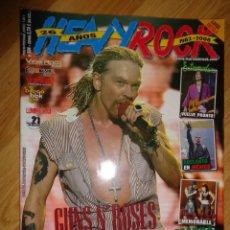 Revistas de música: REVISTA HEAVY/ROCK Nº 304 (GUNS'N'ROSES, EXTREMODURO, JUDAS PRIEST...). Lote 223701296