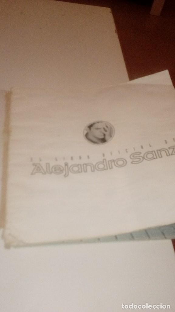 Revistas de música: G-JCA52C ALEJANDRO SANZ LIBRO OFICIAL DE SU HISTORIA LAS CANCIONES ESTADO REGULAR - Foto 6 - 210217870