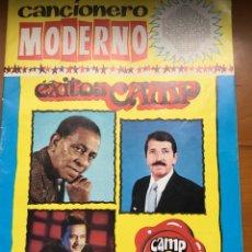 Revistas de música: CANCIONERO MODERNO EXITOS CAMP 1. Lote 165836925