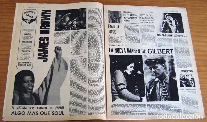Revistas de música: DISCO EXPRES - JOHN MAYALL - NUM. 204 - AÑO 1972 - MUY BUEN ESTADO - Foto 3 - 166036950