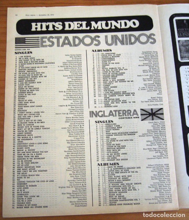 Revistas de música: DISCO EXPRES - JOHN MAYALL - NUM. 204 - AÑO 1972 - MUY BUEN ESTADO - Foto 6 - 166036950