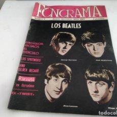 Revistas de música: ANTIGUA REVISTA ORIGINAL FONORAMA Nº 6 BEATLES . Lote 166113638