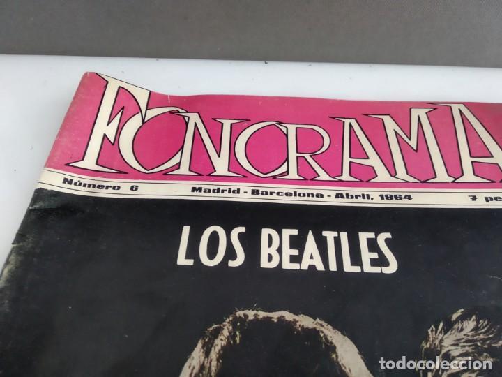 Revistas de música: ANTIGUA REVISTA ORIGINAL FONORAMA Nº 6 BEATLES - Foto 2 - 166113638