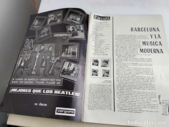 Revistas de música: ANTIGUA REVISTA ORIGINAL FONORAMA Nº 6 BEATLES - Foto 5 - 166113638