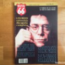 Revistas de música: RUTA 66: LOU REED, SONIC YOUTH, SABINO MÉNDEZ, BLUE CHEERS, SCREAMING TREES.... Lote 166350880