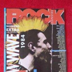 Revistas de música: ROCK ESPEZIAL- NUMERO ESPECIAL PUNK-ROCK/NEW WAVE (1984). Lote 166500786