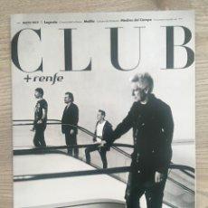 Revistas de música: U2 - REVISTA CLUB. Lote 166599128