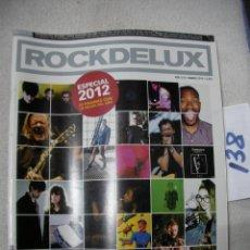 Revistas de música: ANTIGUA REVISTA ROCKDELUX EN BUEN ESTADO - ENVIO INCLUIDO A ESPAÑA. Lote 166656726